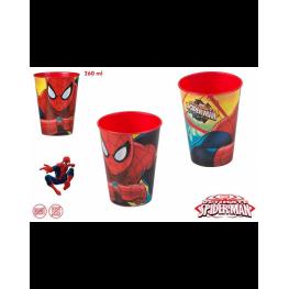 Vaso 260 Ml Spiderman