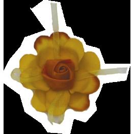 Flor Pic Ramillete Amarillo