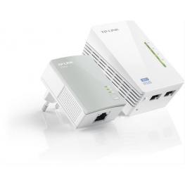 Adaptador Powerline Tp-Link Wifi 300Mb 2Puert