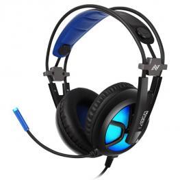 Auriculares Gaming Abkoncore B581 Virtual 7.1 Rgb Led