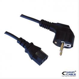 Cable Alim. Cpu, Cee7/m-C13/h 10M Nanocable