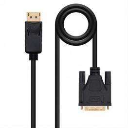Cable Conversor Displayport A Dvi , Dp/m-Dvi/m, 5M Nano