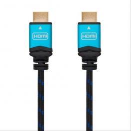 Cable Hdmi V2.0 4K 60Hz 18Gbps, Am-Am, Negro 2M Nanocable