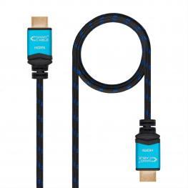 Cable Hdmi V2.0 4K 60Hz 18Gbps, Am-Am, Negro 7M Nanocable
