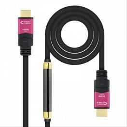 Cable Hdmi V2.0 4K 60Hz Alta Velocidad/hec Repetidor A/a-A/m 25M Nanocable