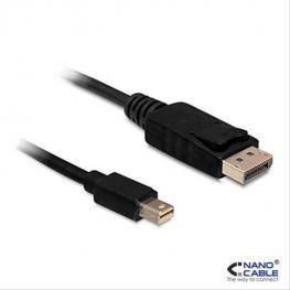 Cable Displayport Mini A Displayport Nanocable 10.15.240 Negro