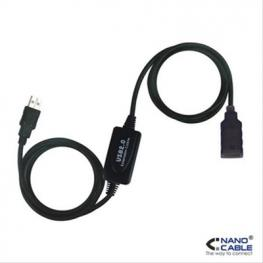 Cable Alargador Usb Nanocable 10.01.021 Negro