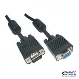 Cable Svga Ferrita Hdb15/m-Hdb15/h 1.8Mnan