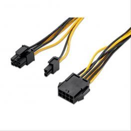 Cable Tarjeta Grafica, Pci-E (Molex 8 Pines)/h - Pci-E(Molex 6+2 Pinm)
