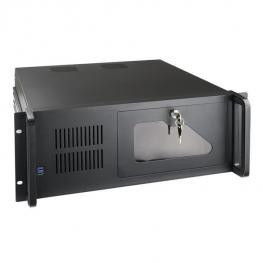 Caja Rack 19 4U Tooq Rack-406N-Usb3  Negra Sin Fa