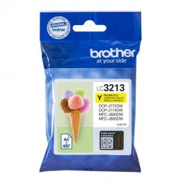Cartucho Tinta Brother Lc3213Y Amarilla