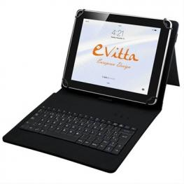 Funda E-Vitta Keytab Usb 9.7-10.1 Android Negro