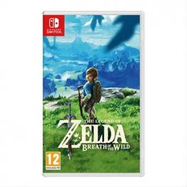 Juego Nintendo Switch Zelda:breath Of The Wil