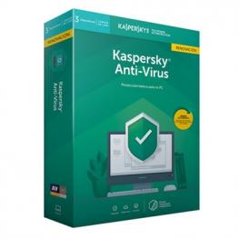 Kaspersky Antivirus 2019 3 Licencias Renovaci