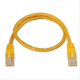 Latiguillo Rj45 Cat.6 Utp Awg24,0.5M Amarillo