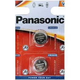 Pila Litio Panasonic Cr2032 5 Uds
