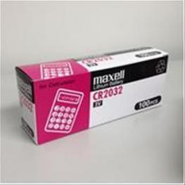 Pila Maxell Cr2032 3V Lithium Battery 5 Uni