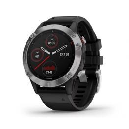 Reloj  Garmin F??nix 6 Plata Negro 47Mm  F??·