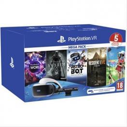 Sony Playstation Vr Mega Pack + Camara + 5 Juegos