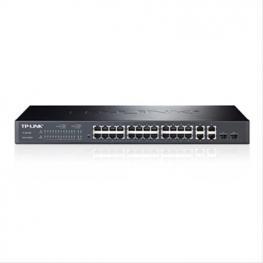 Tp-Link Sw 24Pt 10/100Mbps+4Pt Gigabit  4Pt ·