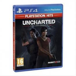 Videojuego Para Ps4 Uncharted el Legado Perdido Ps Hits