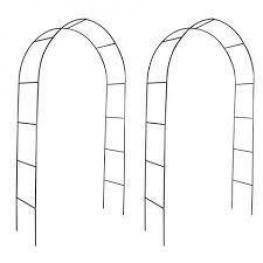 Arco de Jardin Para Plantas Trepadoras, 2 Unidades -Todo Piscinas