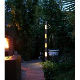 Bambú Con Iluminación Led - Todo En Piscinas y Jardín