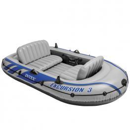 Barco de Excursión Para 3 Personas - Barca Hinchable