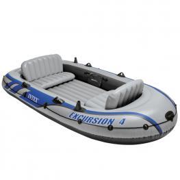 Barco de Excursión Para 4 Personas - Barca Hinchable