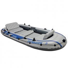 Barco de Excursión Para 5 Personas - Barca Hinchable