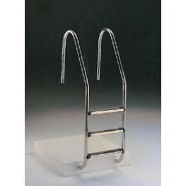 Escalera Modelo Standard En Acero Aisi-304 - Todo En Piscinas