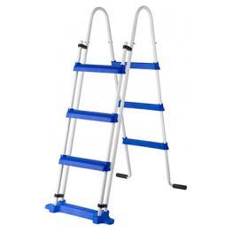 Escalera Se Seguridad de 1,20 M y 2X3 Peldaños - Todo En Piscinas