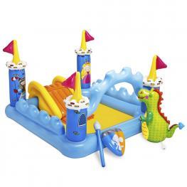Castillo Fantasy. Centro de Juegos Con Agua - Castillo Hinchable