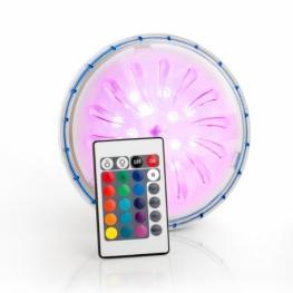 Foco Led Rgb Para Piscinas de Acero - Iluminación Piscinas