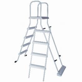 Gama de Escaleras Para Piscinas Elevadas - Todo En Piscinas