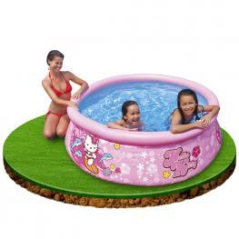 Piscina Infantil Easy Set Hello Kitty - Piscina Hinchable