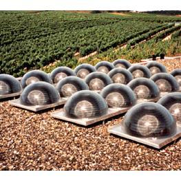 Sistema Con Paneles Semiesféricos - Todo En Piscinas y Jardín.