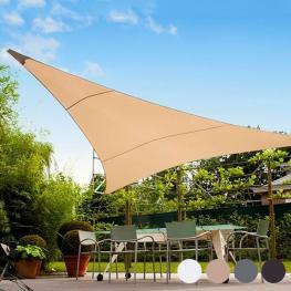 Toldo Vela Triangular (5 Metros) - Todo En Piscinas y Jardín