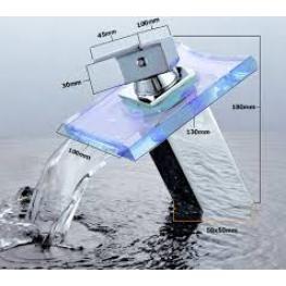 Grifo Led Cascada Modelo Lenox II - Grifos de Diseño