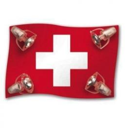 Lámpara de Techo Bandera de Suiza.