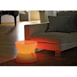 Mesa Luminosa Led Rgb Lounge Mini de Interior Todo En Decoración