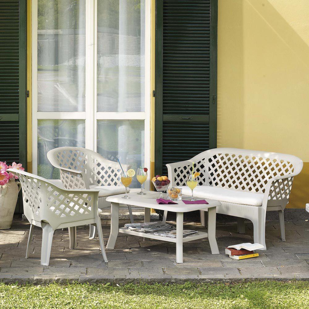 muebles de resina para jardin
